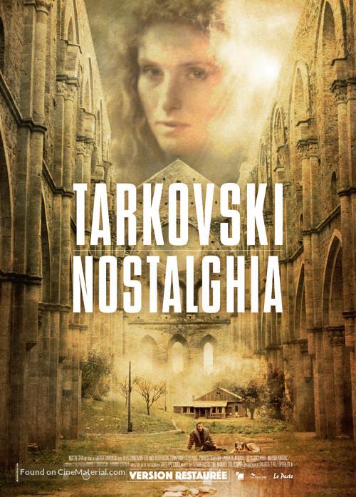 Nostalghia - French Re-release movie poster