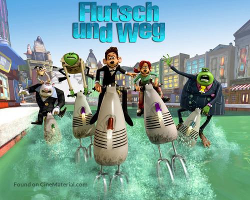 Flushed Away - German Movie Poster