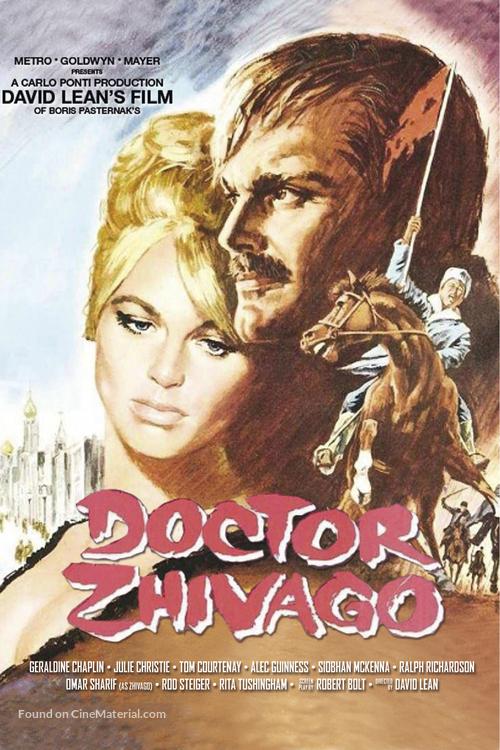 Doctor Zhivago - DVD movie cover