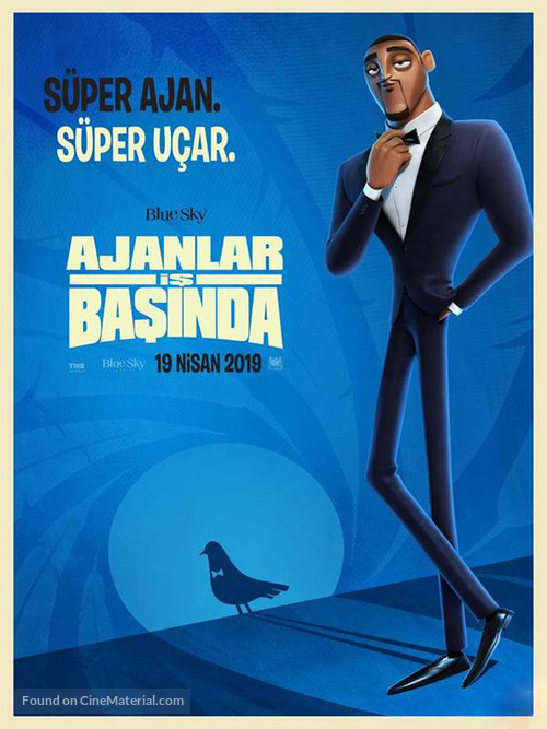 Spies in Disguise - Turkish Movie Poster