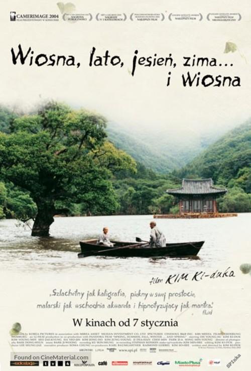 Bom yeoreum gaeul gyeoul geurigo bom - Polish Movie Poster