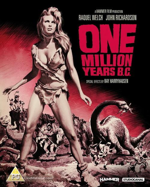 One Million Years B.C. - British Movie Cover