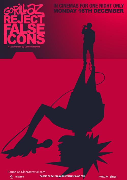 Gorillaz: Reject False Icons - British Movie Poster