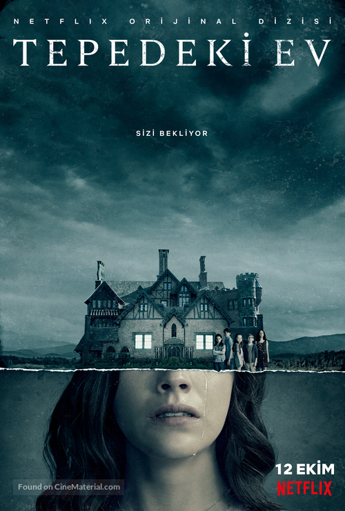 """""""The Haunting of Hill House"""" - Turkish Movie Poster"""