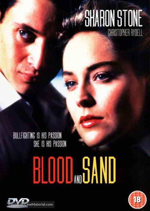 Sangre y arena - British Movie Cover