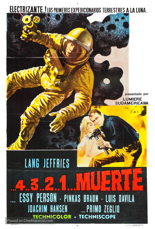 ...4 ...3 ...2 ...1 ...morte - Argentinian Movie Poster