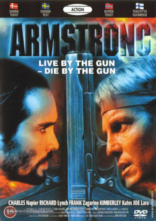 Armstrong - Danish DVD movie cover