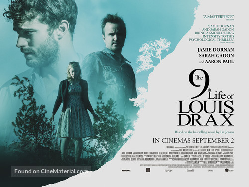 The 9th Life of Louis Drax - British Movie Poster