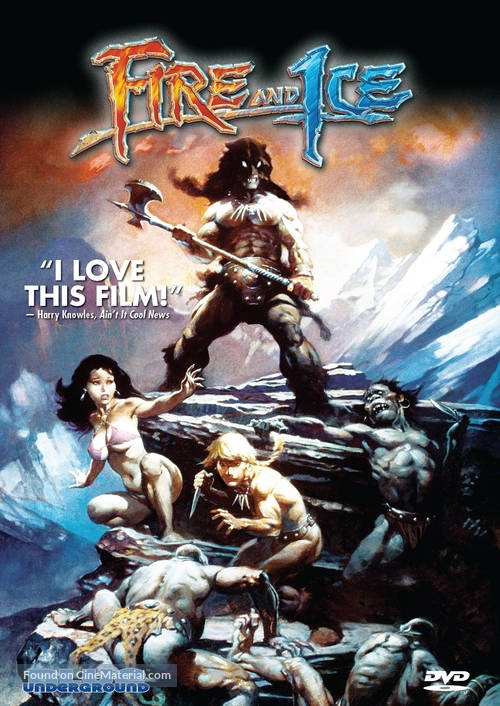 Fire and Ice - Movie Cover