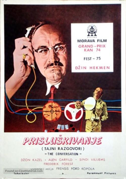 The Conversation - Czech Movie Poster