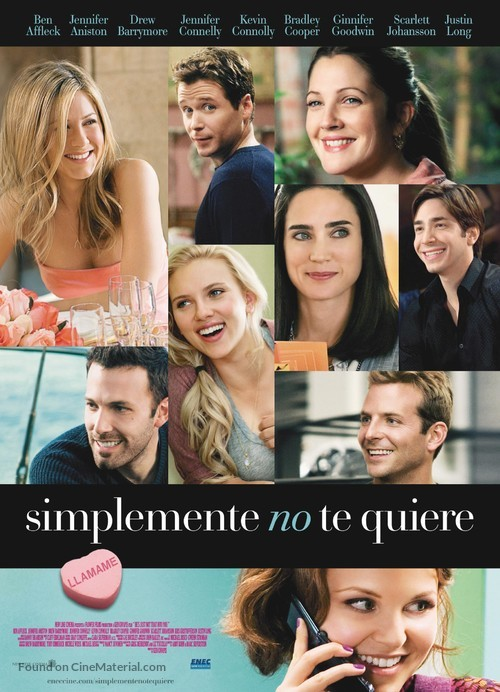 He's Just Not That Into You - Uruguayan Movie Poster