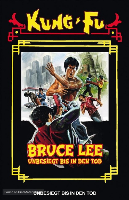 Li Hsiao Lung chuan chi - German DVD movie cover
