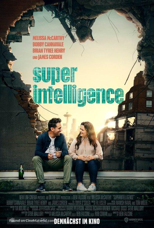 Superintelligence - German Movie Poster