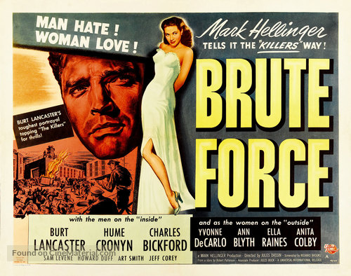 Brute Force - Movie Poster