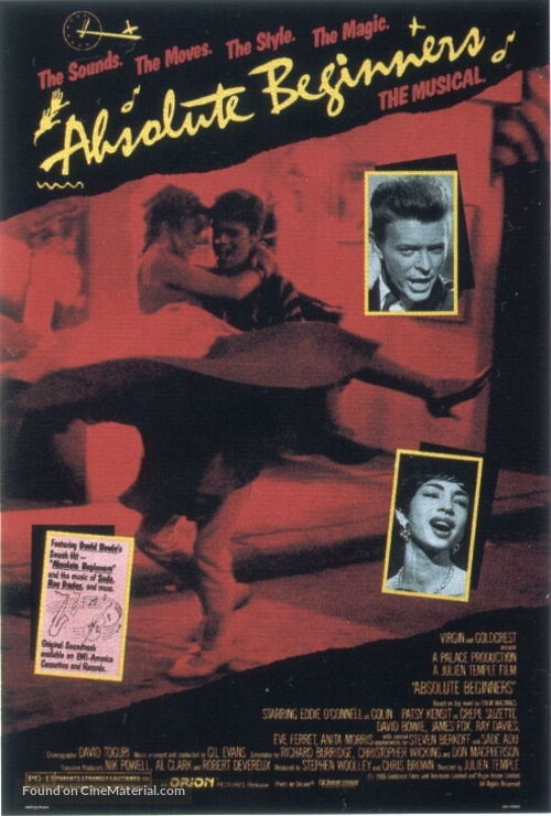 Absolute Beginners - Movie Poster