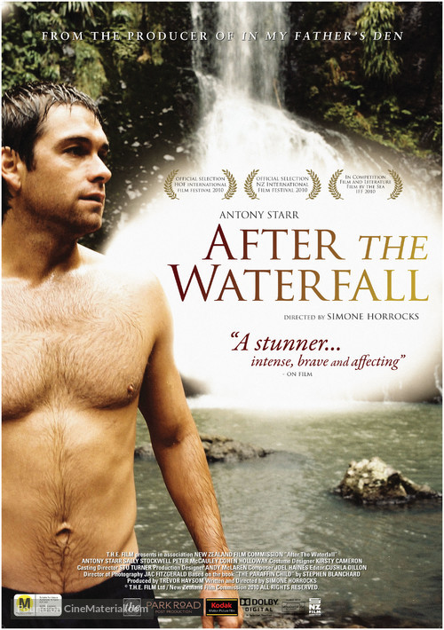 After the Waterfall - New Zealand Movie Poster