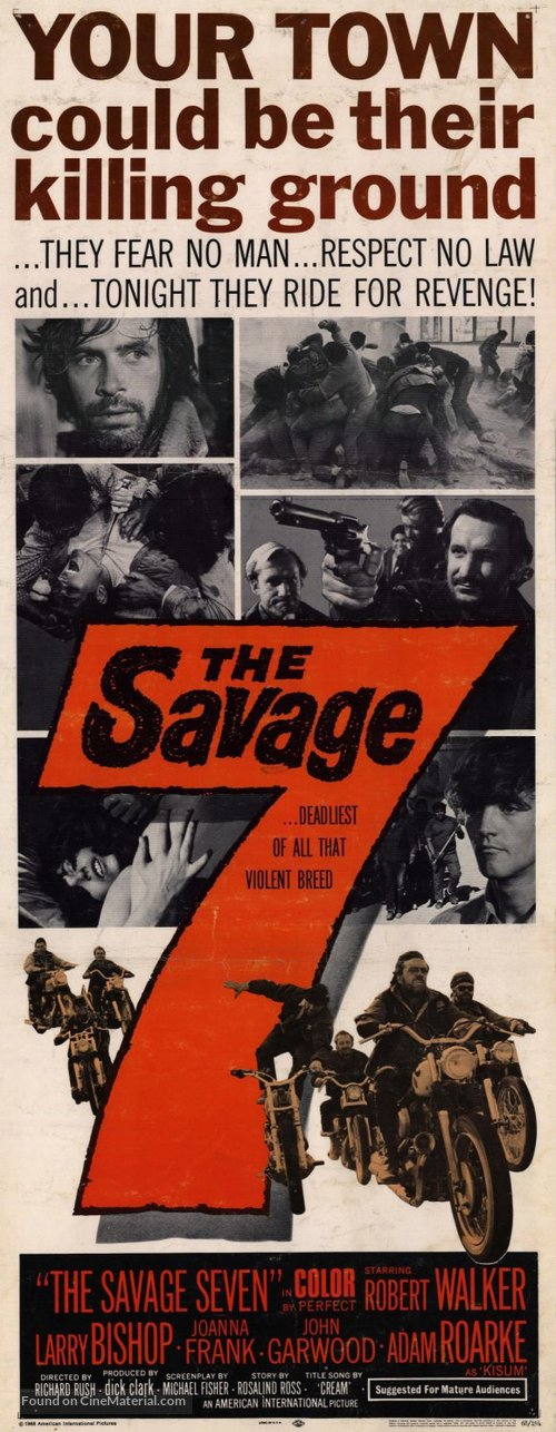 The Savage Seven - Movie Poster