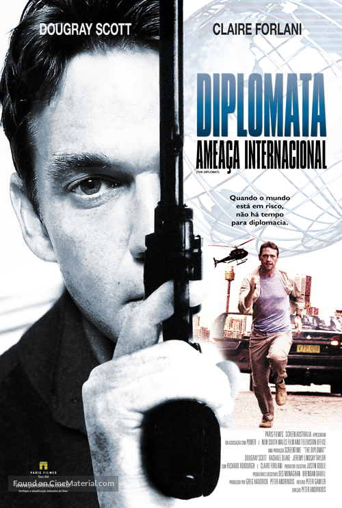 """False Witness"" - Brazilian Movie Poster"