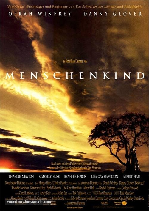 Beloved - German Movie Poster