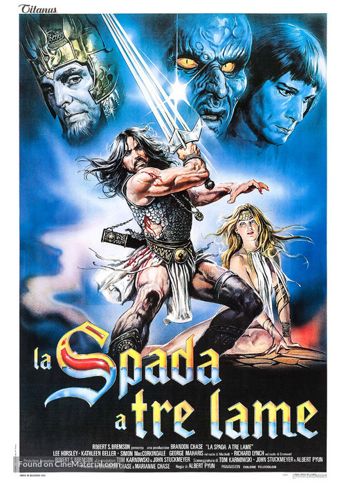The Sword and the Sorcerer - Italian Movie Poster