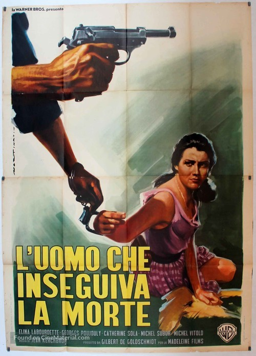 Vacances en enfer - Italian Movie Poster
