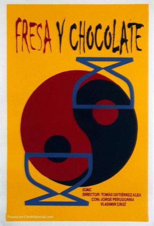 Fresa y chocolate - Cuban Movie Poster