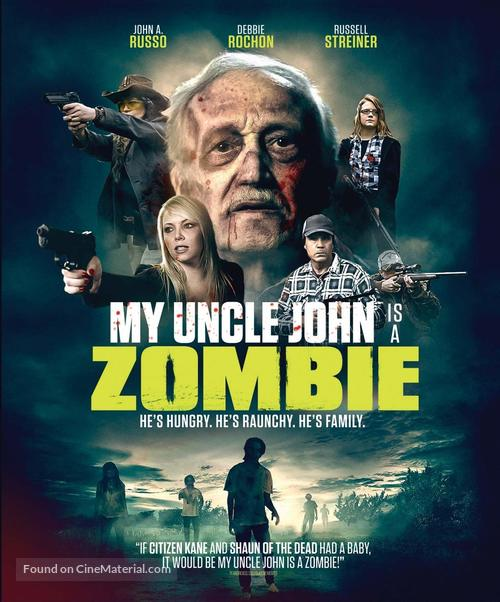 My Uncle John Is a Zombie! - Blu-Ray movie cover
