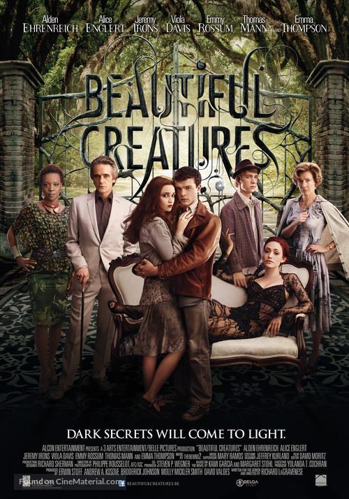 Beautiful Creatures - Belgian Movie Poster