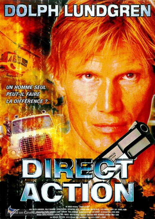 Direct Action - French DVD movie cover