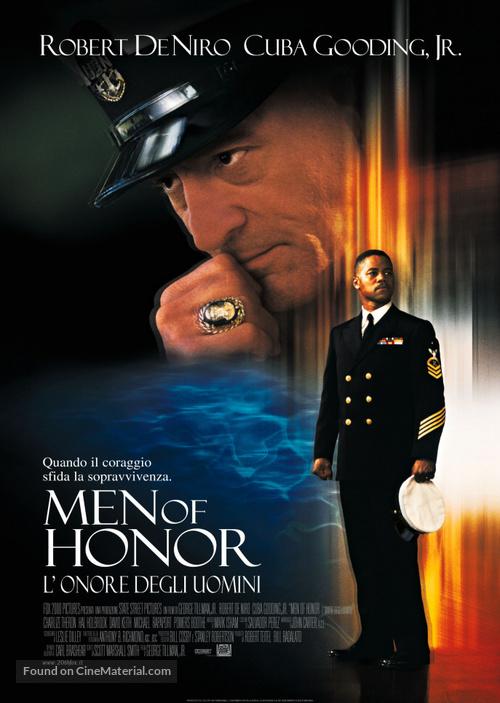 Men Of Honor - Italian Movie Poster