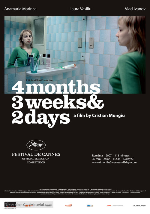 4 luni, 3 saptamini si 2 zile - Movie Poster