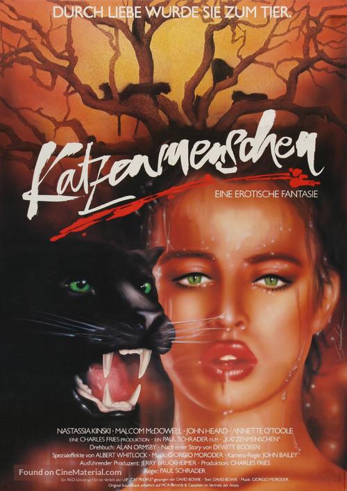 Cat People - German Movie Poster