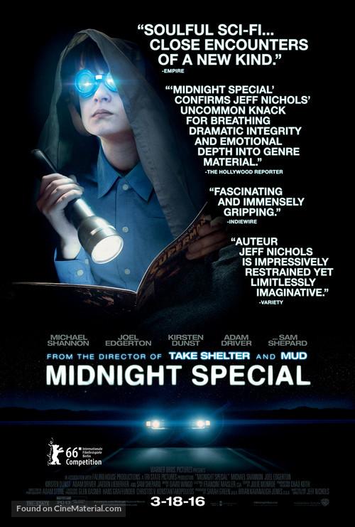 Midnight Special - Movie Poster