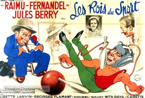 Rois du sport, Les - French Movie Poster