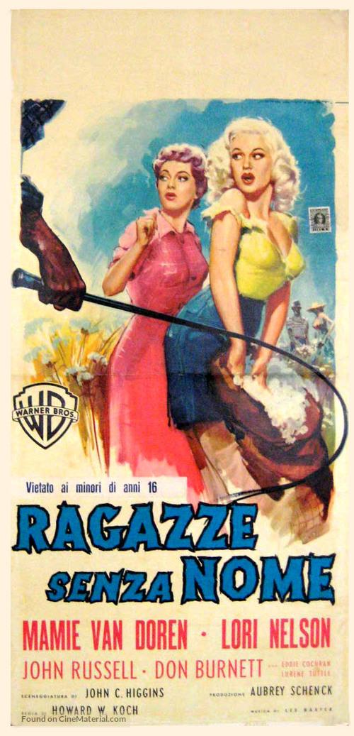 Untamed Youth - Italian Movie Poster