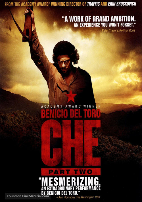 Che: Part Two - DVD movie cover