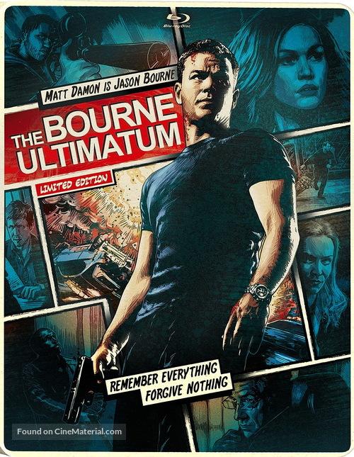 The Bourne Ultimatum 2007 Movie Cover