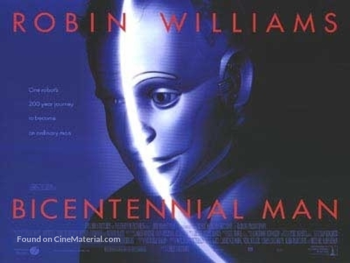 Bicentennial Man - British Movie Poster