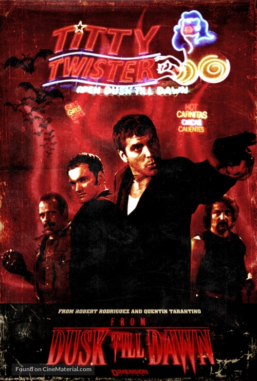 From Dusk Till Dawn - German DVD movie cover