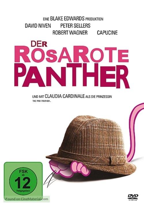 The Pink Panther - German Movie Cover