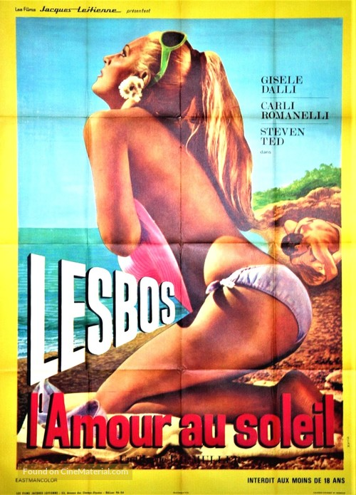 Lesbo - French Movie Poster