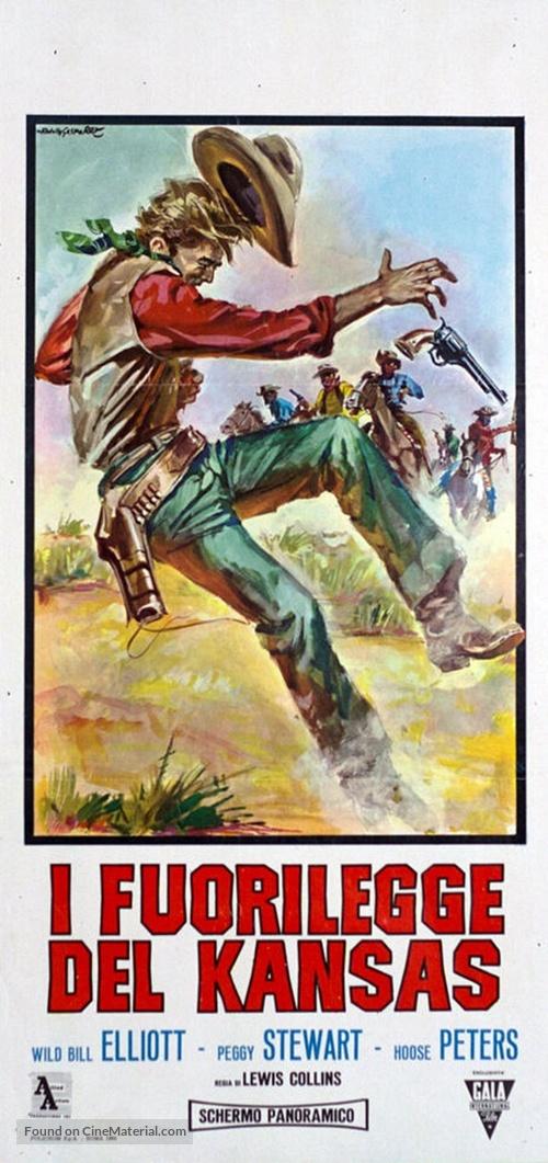 Kansas Territory - Italian Movie Poster