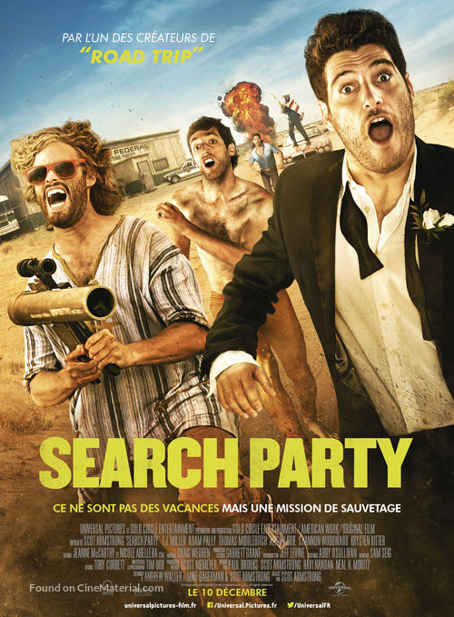 Search Party - French Movie Poster