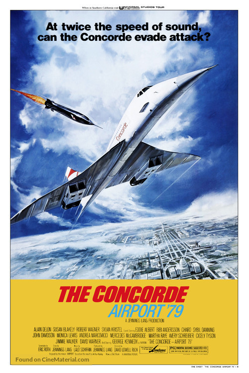 The Concorde: Airport '79 - Movie Poster