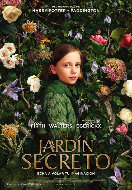 The Secret Garden - Spanish Movie Poster