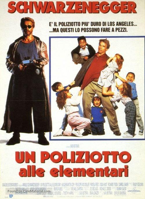 Kindergarten Cop - Italian Movie Poster
