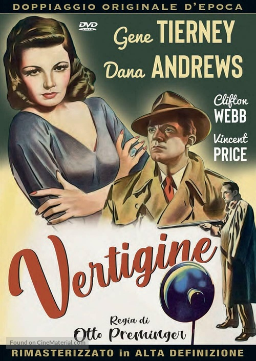 Laura - Italian DVD movie cover