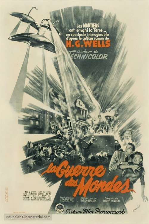 The War of the Worlds - French Movie Poster