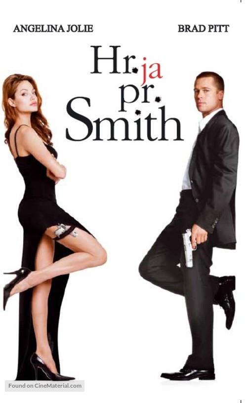 Mr. & Mrs. Smith - Estonian VHS movie cover