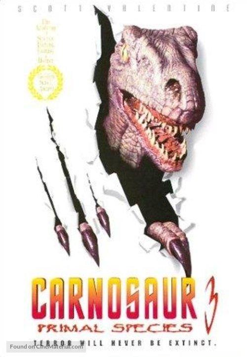 Carnosaur 3: Primal Species - DVD movie cover